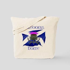 Scotland Caledonia Home Flag Tote Bag
