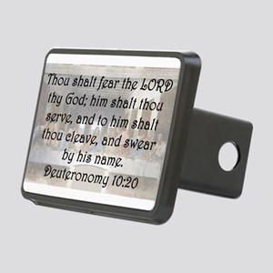 Deuteronomy 10:20 Hitch Cover
