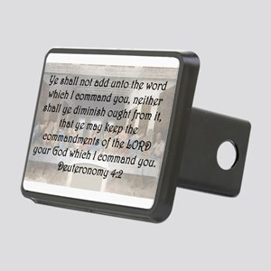 Deuteronomy 4:2 Hitch Cover