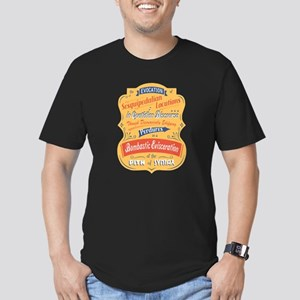 Sesquipedalian Locutions II Men's Fitted T-Shirt (