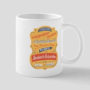 Sesquipedalian Locutions II Mug