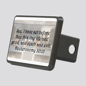 Deuteronomy 30:15 Hitch Cover