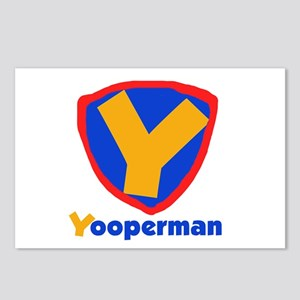 YooperMan Postcards (Package of 8)