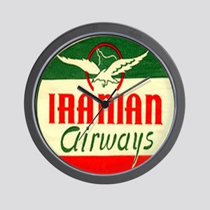 Iranian Airways Wall Clock