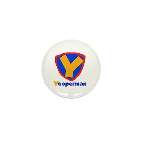 YooperMan Mini Button