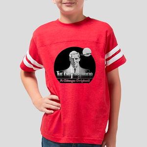 KnitMafia_white Youth Football Shirt