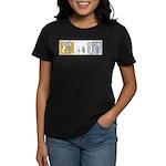 """WTD: """"Mind Over Matter"""" Women's Dark T-Shirt"""