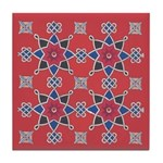 Red Beauty Tile Coaster