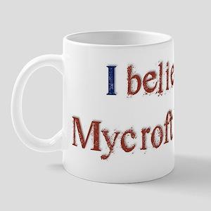 Believe in Mycroft Mug