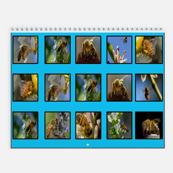 Busy Bee Wall Calendar