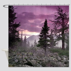 Beautiful Forest Landscape Shower Curtain