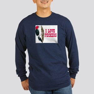 LOVE PECKERS Long Sleeve Dark T-Shirt
