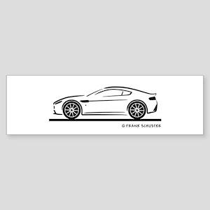 Aston Martin Vantage S Sticker (Bumper)