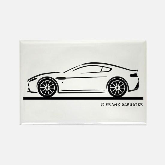 Aston Martin Vantage S Rectangle Magnet