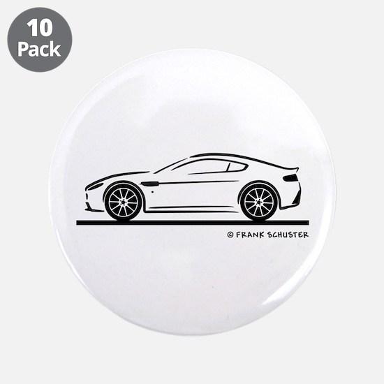 "Aston Martin Vantage S 3.5"" Button (10 pack)"