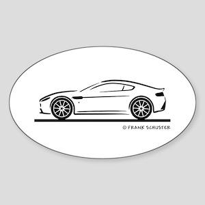 Aston Martin Vantage S Sticker (Oval)