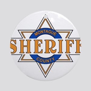 Sheriff Buford T Justice Door Emblem Ornament (Rou
