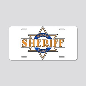Sheriff Buford T Justice Door Emblem Aluminum Lice