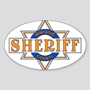 Sheriff Buford T Justice Door Emblem Sticker