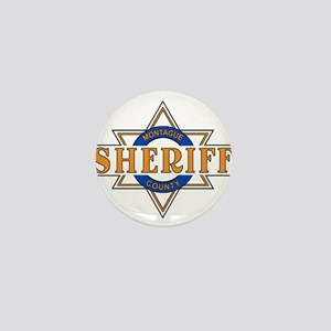 Sheriff Buford T Justice Door Emblem Mini Button