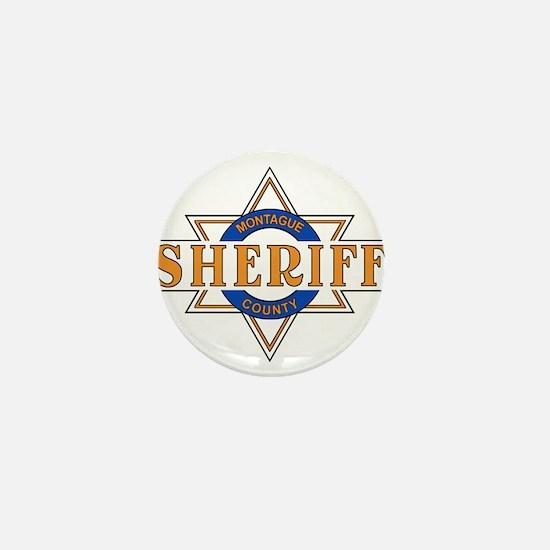 Sheriff Buford T Justice Door Emblem Mini Button