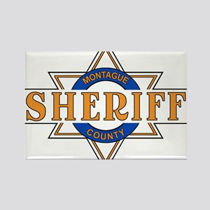 Sheriff Buford T Justice Door Emblem Rectangle Mag