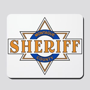 Sheriff Buford T Justice Door Emblem Mousepad