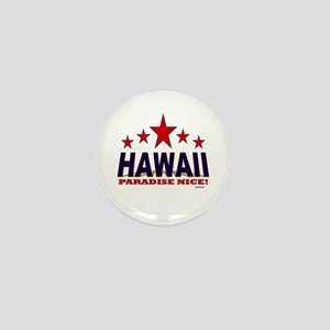 Hawaii Paradise Nice Mini Button