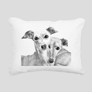 BFF Rectangular Canvas Pillow