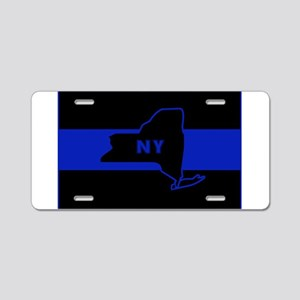 ThinBlueLineNewYorkState Aluminum License Plate