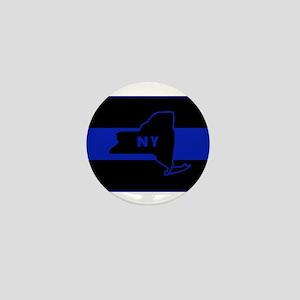 ThinBlueLineNewYorkState Mini Button