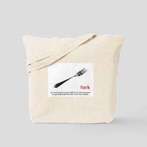 Definition Of Fork Tote Bag