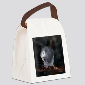 Timneh African Grey Canvas Lunch Bag