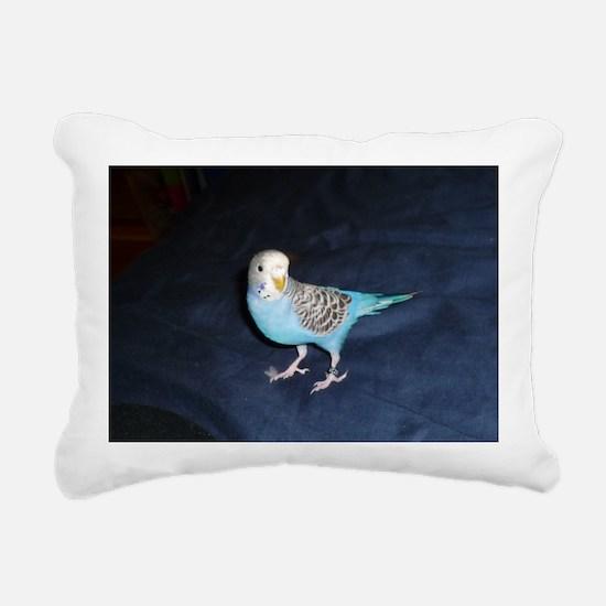 parakeet Rectangular Canvas Pillow