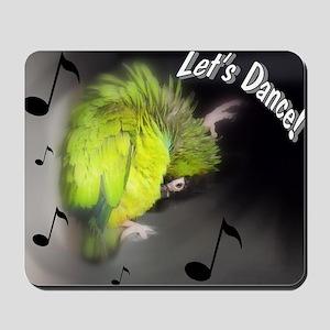 nanday conure dancing Mousepad