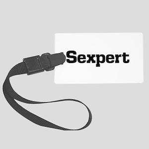 Sexpert Luggage Tag
