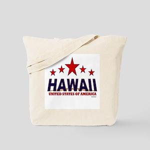 Hawaii U.S.A. Tote Bag