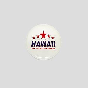 Hawaii U.S.A. Mini Button