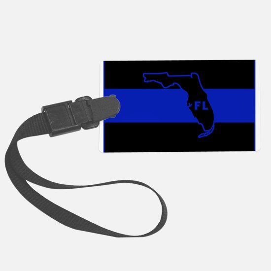 Thin Blue Line Florida Luggage Tag
