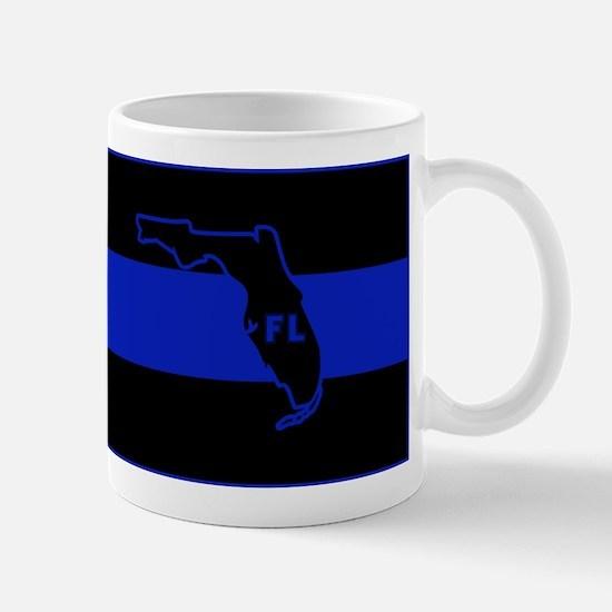 Thin Blue Line Florida Mug