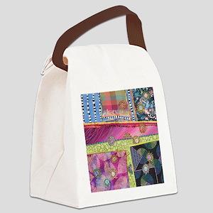 Plot Twists Canvas Lunch Bag