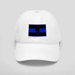 Thin Blue Line Illinois Baseball Cap