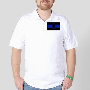 Thin Blue Line Illinois Golf Shirt