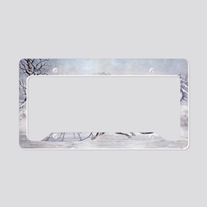 The Road Winter License Plate Holder