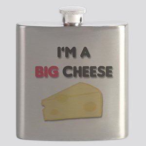Im A Big Cheese Flask