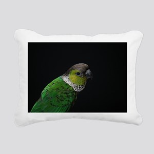 blackcap conure Rectangular Canvas Pillow