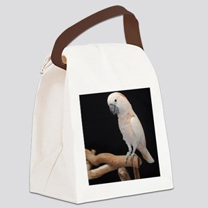 moluccan cocktoo Canvas Lunch Bag