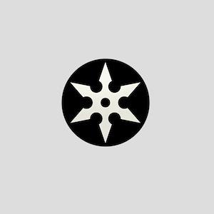 Shuriken Mini Button