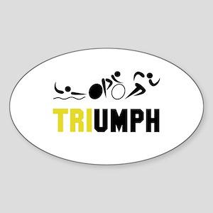Tri Triumph Sticker