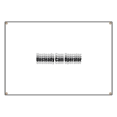 Unsteady Cam Banner by Bayouwood